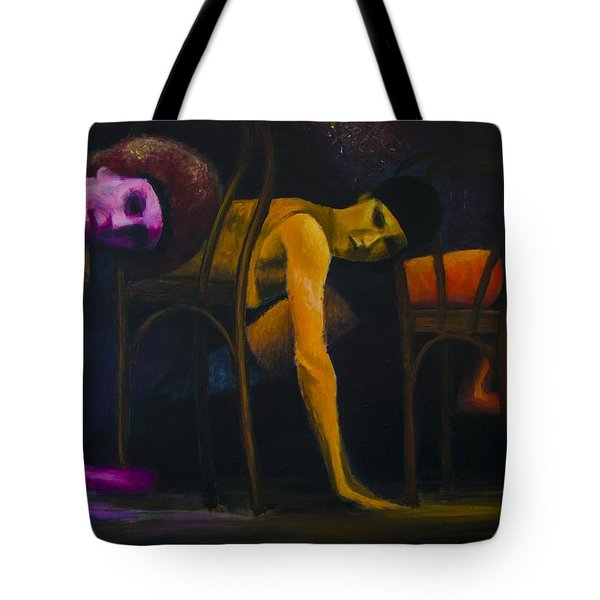 Lights Center Stage Tote Bag