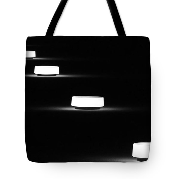 Lights In A Row Tote Bag
