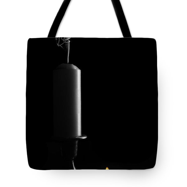 Lights Out Still Life Tote Bag