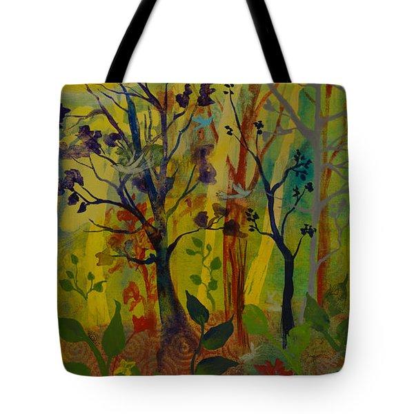 Light's Wonderful Secret Tote Bag by Robin Maria Pedrero