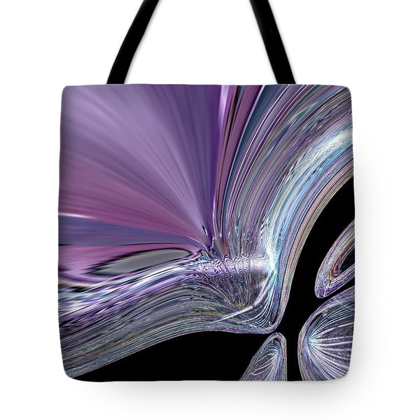 Like A Drop In The Splash Tote Bag by Jeff Swan