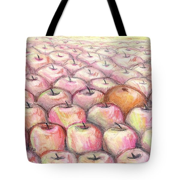 Like Apples And Oranges Tote Bag by Shana Rowe Jackson