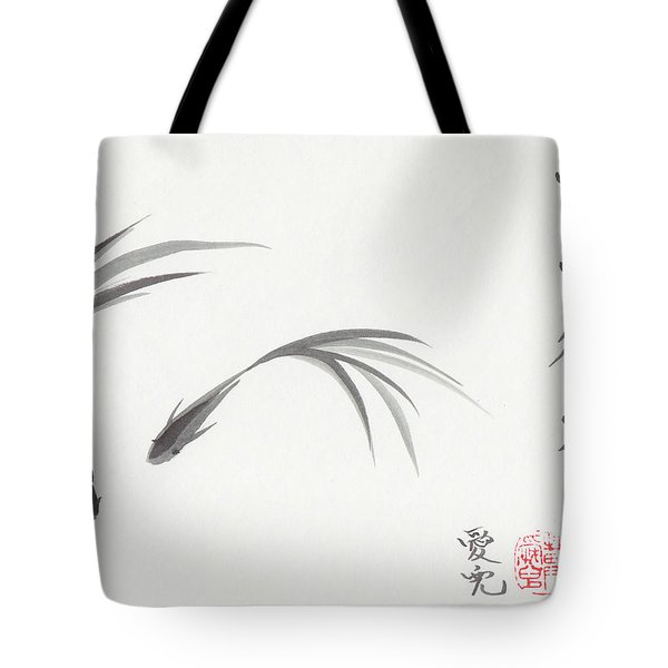 Like Fish With Water Tote Bag