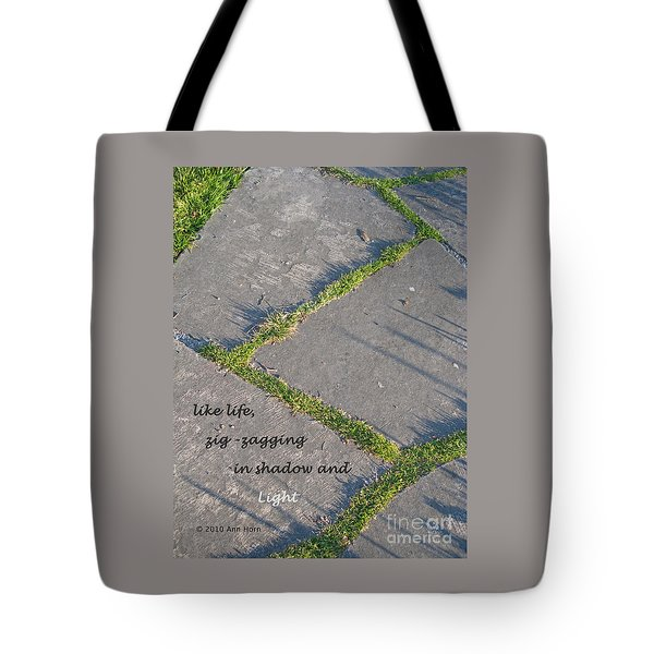 Like Life Tote Bag by Ann Horn