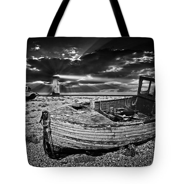 Tote Bag featuring the photograph Like Moths To The Flame by Meirion Matthias