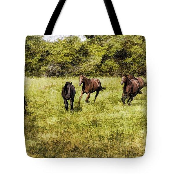 Like The Wind Tote Bag