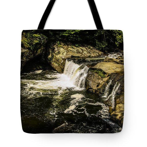 Lil Bald River Falls Tote Bag