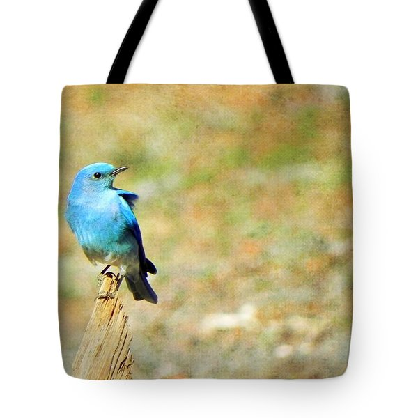 Lil Bird Of Happiness Tote Bag