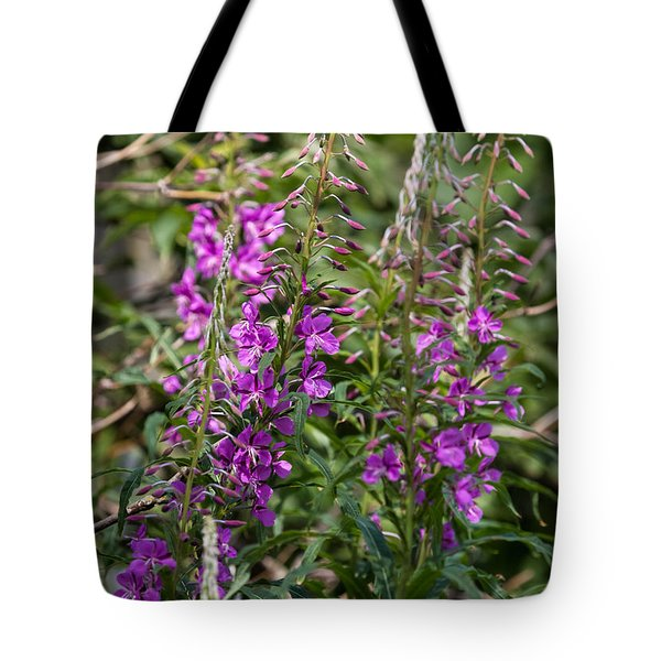 Tote Bag featuring the photograph Lilac Flower by Leif Sohlman