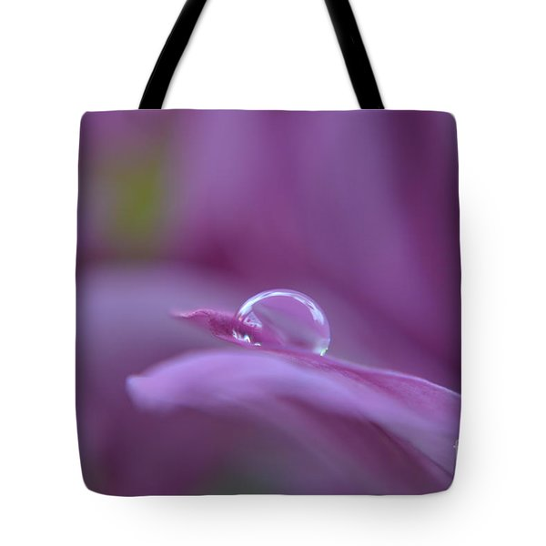 Lilac Tote Bag by Michelle Meenawong
