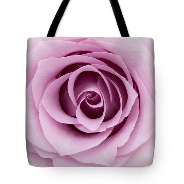 Lilac Rose Tote Bag