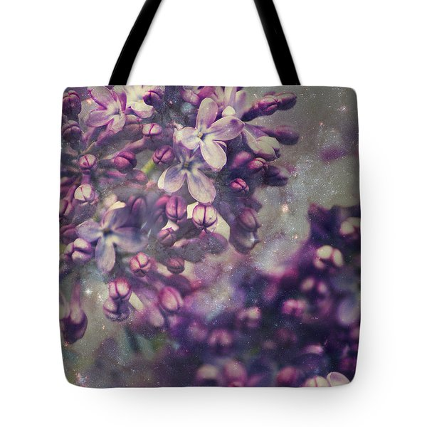 Lilac Tote Bag by Yulia Kazansky
