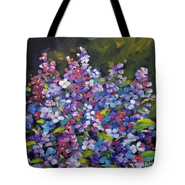 Lilac_burst_by_prankearts Tote Bag by Richard T Pranke