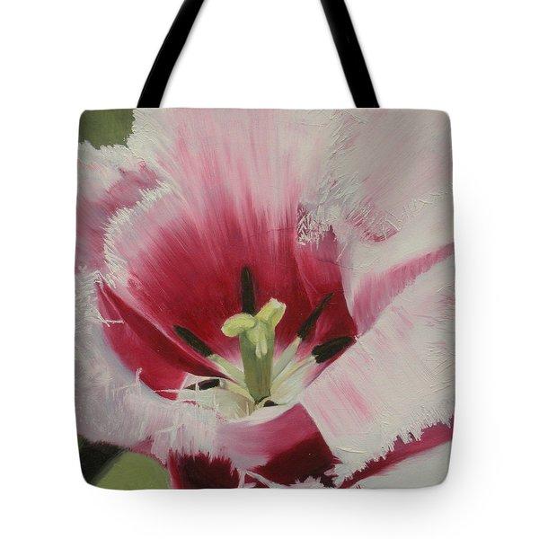 Lilicaea Tulipa Tote Bag by Claudia Goodell