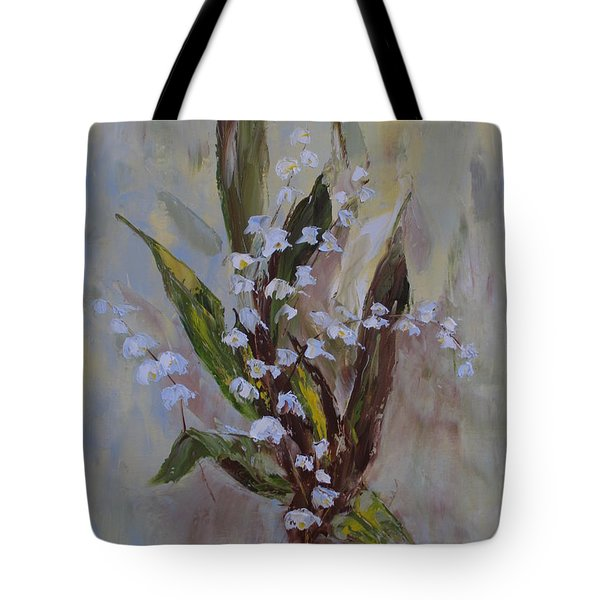 Lilies-of-the-valley Tote Bag
