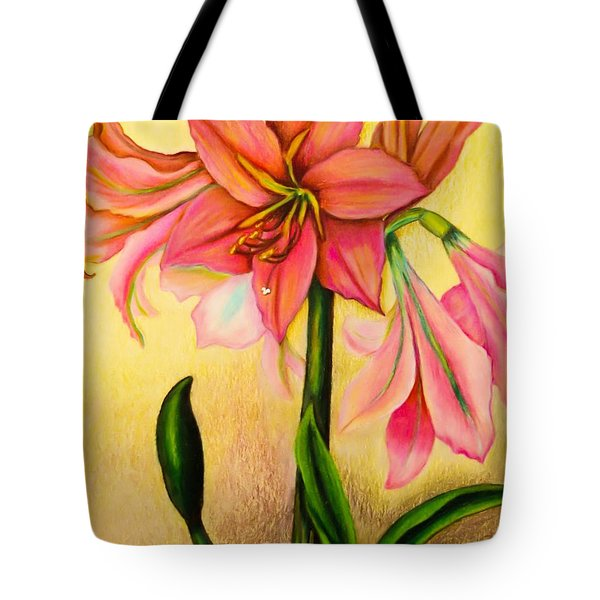 Lilies Tote Bag by Zina Stromberg