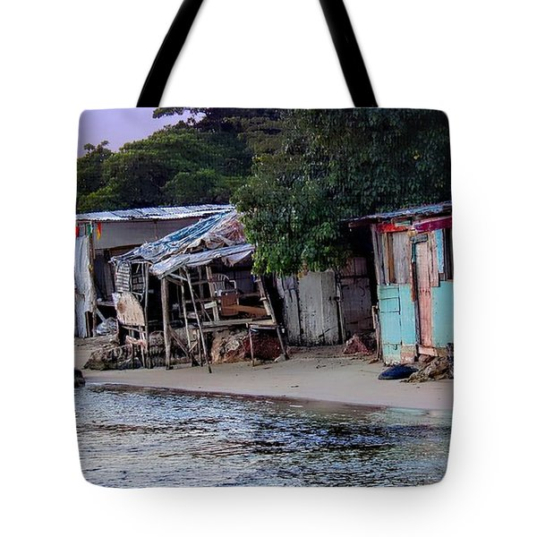 Liliput Craft Village And Bar Tote Bag