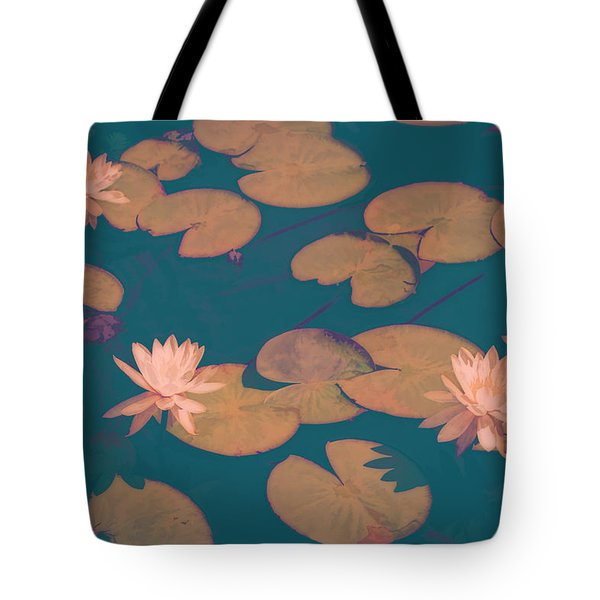 Lilly Pads In Pink  Tote Bag