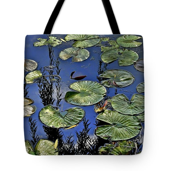 Lilly Pond Tote Bag by Frozen in Time Fine Art Photography