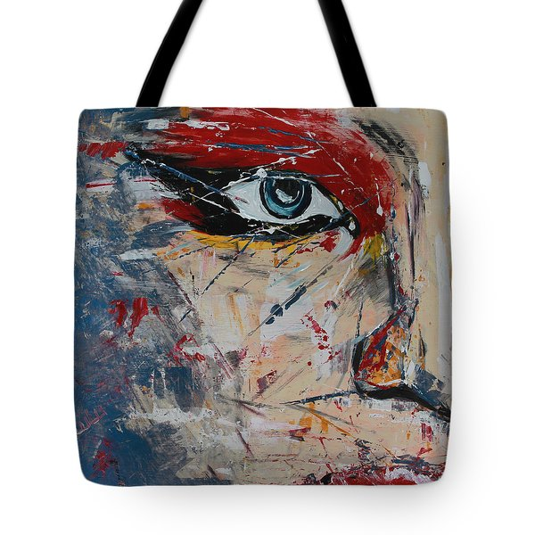 Tote Bag featuring the painting Liluye by Lucy Matta