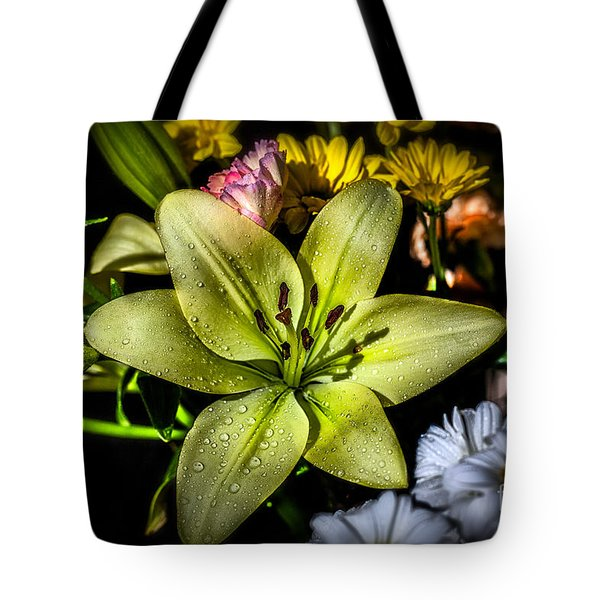 Lily Tote Bag by Adrian Evans