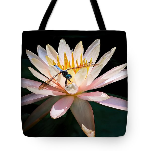 Lily And Dragon Tote Bag