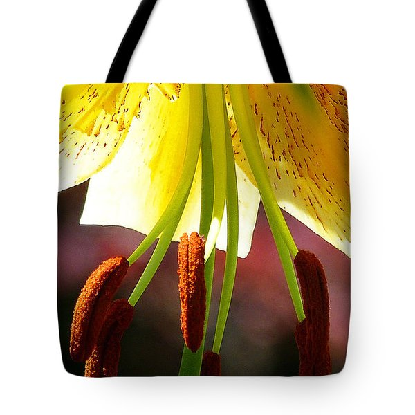 Lily Chandelier Tote Bag