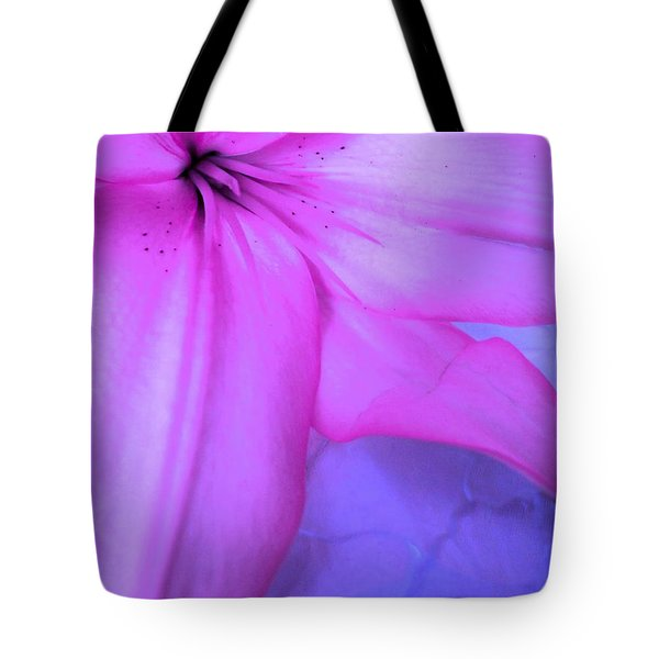 Lily - Digital Art Tote Bag