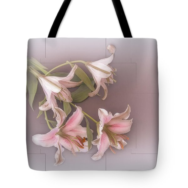 Lily Tote Bag by Elaine Teague