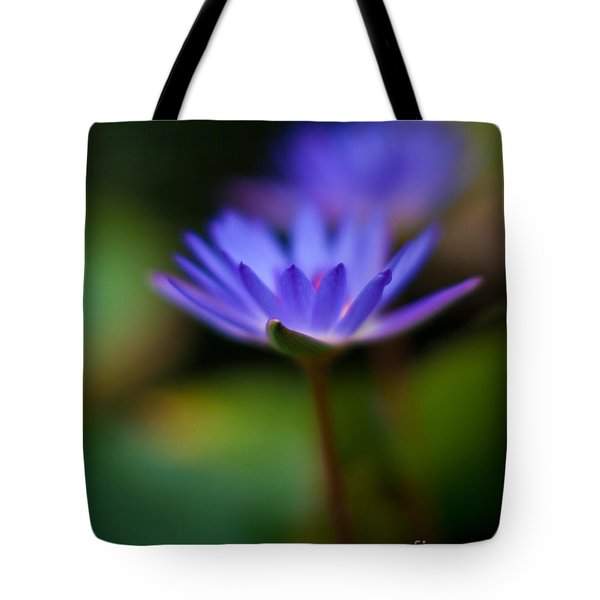 Lily Glow Tote Bag by Mike Reid
