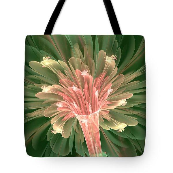 Lily In Bloom Tote Bag by Svetlana Nikolova