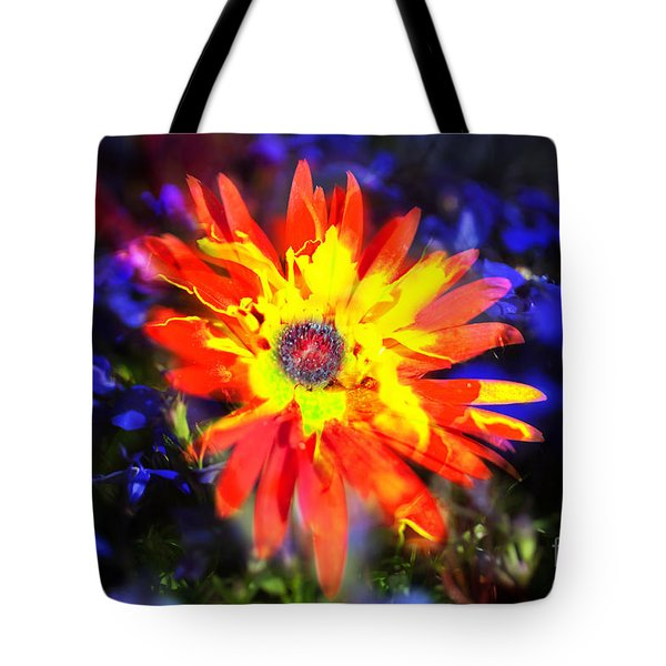 Lily In Vivd Colors Tote Bag