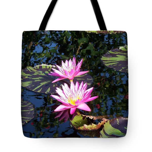 Lily Monet Tote Bag by Eric  Schiabor