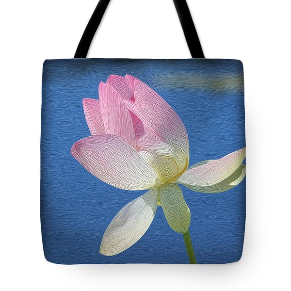 Lily My Pretty Tote Bag by Jewels Blake Hamrick