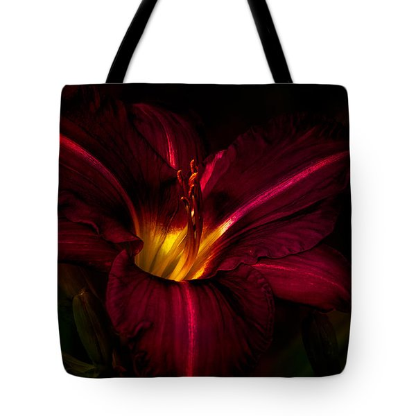 Lily Number Nine Tote Bag
