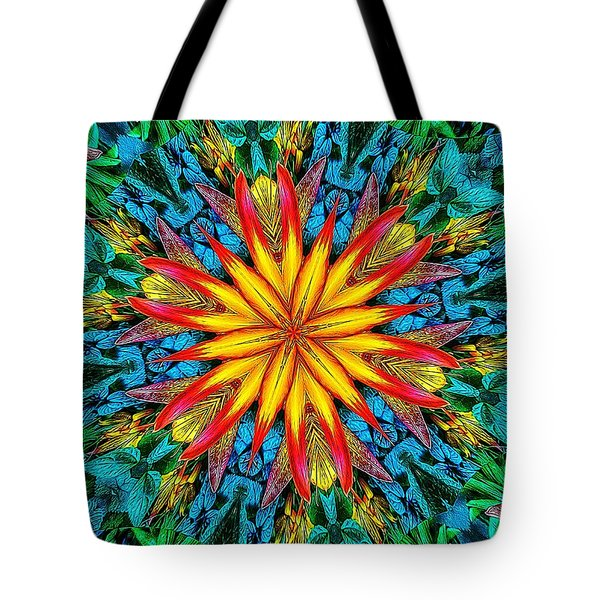 Lily Of Paradise Tote Bag
