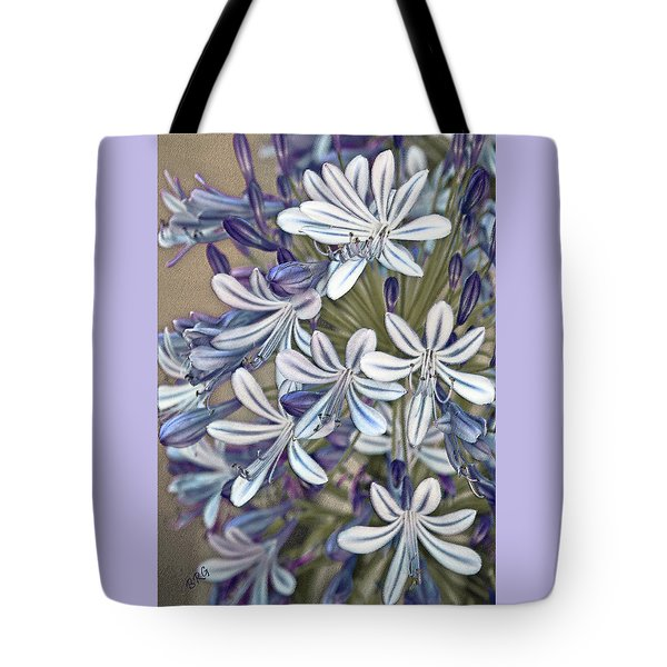 Lily Of The Nile Tote Bag by Ben and Raisa Gertsberg