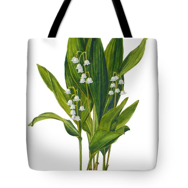 Lily Of The Valley - Convallaria Majalis Tote Bag