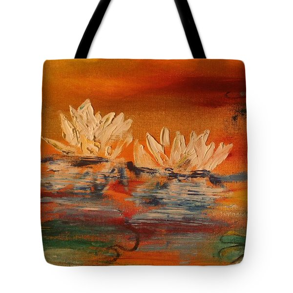 Lily Pad Tote Bag by PainterArtist FIN