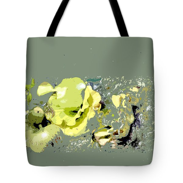 Lily Pads - Deconstructed Tote Bag
