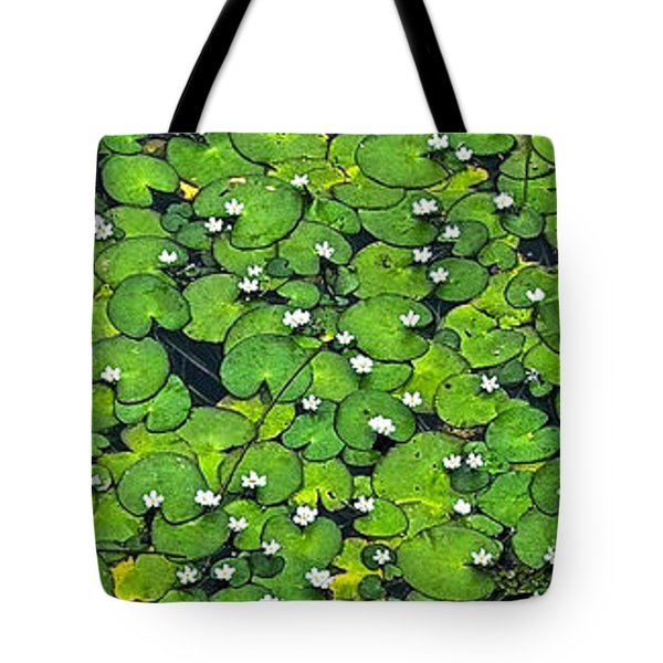 Lily Pond Tote Bag by Jocelyn Kahawai