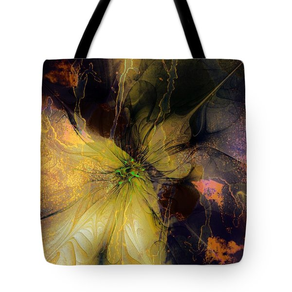 Lily Pond Reflections Tote Bag by Amanda Moore