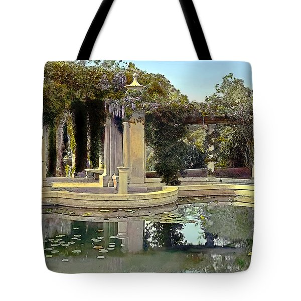 Lily Pond Tote Bag by Terry Reynoldson