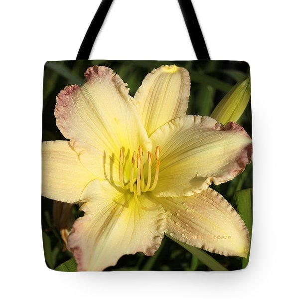 Lily Square Tote Bag