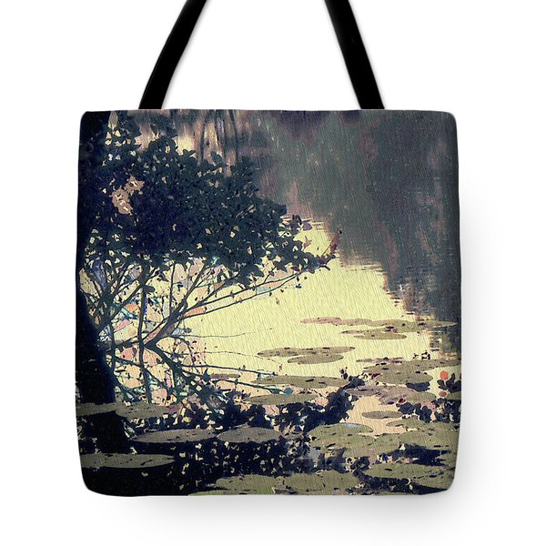 Tote Bag featuring the photograph Lilypads by Jeff Breiman
