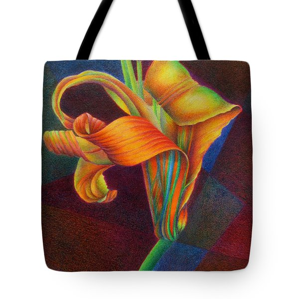 Lily's Rainbow Tote Bag