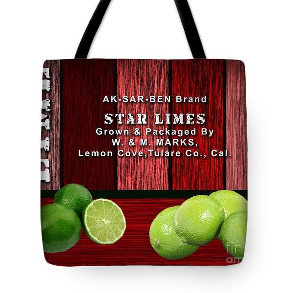 Lime Farm Tote Bag