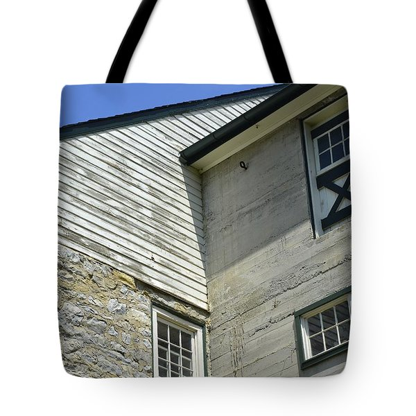 Lime Valley Mill Corner View Tote Bag