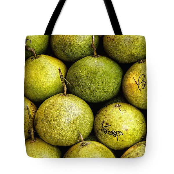 Limes Tote Bag by Jean Noren