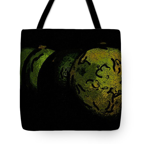 Limes Tote Bag by Tommytechno Sweden
